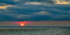 Dark clouds threaten the planet (Ciceruacchio) Tags: sunset tramonto coucherdesoleil sun sole clouds nuvole nuages dark sombre buio sky cielo ciel sea mare mer ocean oceano threat menace minaccia planet planète pianeta atlanticcoast côteatlantique costaatlantica france