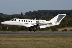 g-peer c25a eggw (Terry Wade Aviation Photography) Tags: c25a eggw