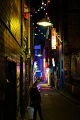 Stormtrooper (tinmarmade) Tags: nikon nuit night street rue ruelle voyage travel light couleur colorfull colors australia australie melbourne portrait