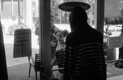 Mannequin (zacharymcgee) Tags: home developed 35mm film cape girardeau black white bw ilford 400 canon a1 cinestill 1 step bath