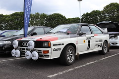 Audi Quattro RWP506Y (Andrew 2.8i) Tags: swccc stadium city cardiff show voitures voiture autos auto cars car classics classic welsh wales uk kingdom united german coupe sports sportscar rally 4x4 four4allwheeldrive ur quattro audi