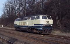216 083 Osnabrück (A. Lippincott) Tags: db deutsche bundesbahn lok diesel baureihe 216 1991 niedersachsen v160 osnabrück bahnhof station