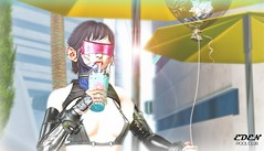 >>BubbleTea (El Kavla) Tags: turlacoor moto cyber arms cyberpunk cocoon street futurist color catwa boy man doux glasses insanity city add tags solarpunk utopia second life sl futuristic future android scifi science fiction secondlife video game 2019 moon colony space 2077 genus 2049 2020 br blade runner joi club party eden dj music