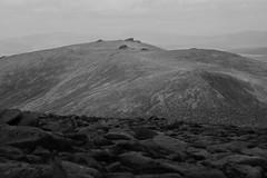 Lonely Monoliths (steve_whitmarsh) Tags: aberdeenshire scotland scottishhighlands highlands landscape mountain hills bw blackandwhite monochrome rock rocks topic
