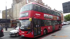 P1170057 BDE2615 LJ19 CTZ at Highbury & Islington Station Holloway Road Islington London (LJ61 GXN (was LK60 HPJ)) Tags: metroline byd enviro400evcity enviro400ev electric enviro400city e400ev city 109m 10900mm bde2615 lj19ctz j4172