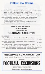 Blackburn Rovers vs Rochdale - 1972 - Page 8 (The Sky Strikers) Tags: blackburn rovers rochdale football league division three ewood park review official programme 7p