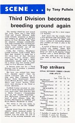 Blackburn Rovers vs Rochdale - 1972 - Page 17 (The Sky Strikers) Tags: blackburn rovers rochdale football league division three ewood park review official programme 7p