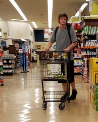 July 20, 2019 (4) (gaymay) Tags: california desert gay love palmsprings riversidecounty coachellavalley sonorandesert groceries shopping carts