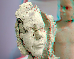 CODA Apeldoorn 3D (wim hoppenbrouwers) Tags: coda apeldoorn 3d anaglyph stereo redcyan paperart
