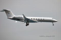 VP-CBX (mduthet) Tags: vpcbx gulfstreamaerospace gulfsteamv aéroportdenicecôtedazur