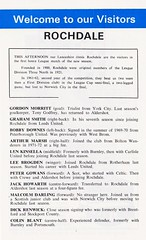 Blackburn Rovers vs Rochdale - 1972 - Page 13 (The Sky Strikers) Tags: blackburn rovers rochdale football league division three ewood park review official programme 7p