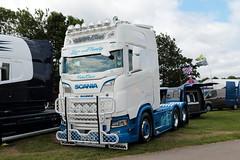 C Doyle and Sons Scania S650 EY18GWX Malvern Truckfest 2019 (davidseall) Tags: c doyle sons scania s650 ey18gwx malvern truckfest 2019 show v8 ey18 gwx truck lorry tractor unit lage haevy goods vehicle lgv hgv haulage transport worcestershire uk