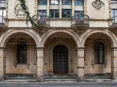 """Antiche dimore (fabrizio_buoso) Tags: """"nikonflickraward"""" nikonclubit padova veneto portici porticati balconi"""