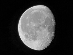 Waning Gibbous Moon on the 50th Anniversary of Apollo 11 (spacemike) Tags: moon luna lunar waxingmoon space astronomy astrophotography crater craters mare sky nightsky charlotte northcarolina charlottenc charlottenorthcarolina spacemike astromike waningmoon waning gibbous waninggibbousmoon gibbousmoon apollo11 apollo50th moonlanding neilarmstrong nasa