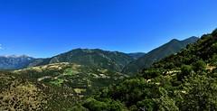 vue depuis les hauteurs d'Oreilla (Dune 66) Tags: montagne pyrénées orientales france garrotxes haut conflent oreilla lanscape nature mountains canigou vallée