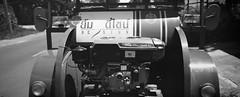 put put truck (Matt Jones (Krasang)) Tags: eastman kodak 2468 blackandwhite positive film slide 35mm fujigsw690 putputtruck home made tractor xtol stock