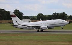 N666ML Boeing 737-7BC BBJ (R.K.C. Photography) Tags: n666ml boeing 7377bc b737 bbj aircraft aviation bizjet luton bedfordshire england unitedkingdom uk hkbellawingsjet 30330 american londonlutonairport ltn eggw canoneos750d