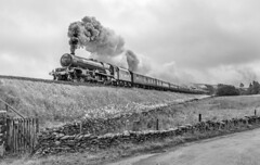 The Power and the Glory (Kingmoor Klickr) Tags: gordonedgar 6201 46201 princesselizabeth 1z24 railwaytouringcompany helwithbridge sc settlecarlisle mainlinesteam cumbrianmountainexpress cme