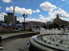 Musical Fountain - Kiev (AlexF1a) Tags: kiev ukraine fountain independancesquare kyiv