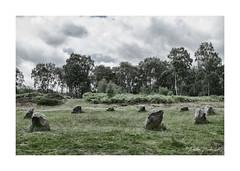 The Nine Ladies (1) (PeteZab) Tags: stonecircle nineladies derbyshire england ancient monument bronzeage stantonmoor splittone
