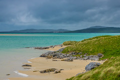 Luskentyre Beach, Isle of Harris (Bev & Paul Mynott) Tags: lewisharris luskentyre beaches clouds sea holiday2019 hebrides outerhebrides scotland sonyrx10iv