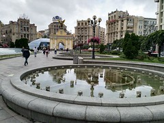 Kiev Musical Fountain (AlexF1a) Tags: kiev kyiv ukraine independancesquare