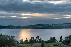 Cloudy Sunset - DSC_0346 (John Hickey - fotosbyjohnh) Tags: 2019 july2019 ireland sunset sky lake clouds reflections landscape nikon flickr d750 naas cowicklow blessingtonlakes