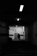 Urban Solitude - Down the Corridor (ucn) Tags: ilfordhp5400 push rollexpatent6x9cm zeissikondonata2277u tessar135cmf45 frankfurtammain hauptbahnhof street