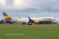 B757-330 D-ABOF CONDOR (shanairpic) Tags: jetairliner passengerjet b757 boeing757 shannon condor thomascook dabof