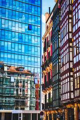 Bilbao Reflections (orkomedix) Tags: canon eosr rf24105f4l bilbao spain basque city phototrip architecture glas reflexion