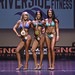 Bikini Masters Short 2nd Saunders 1st Switzeny 3rd Lawson