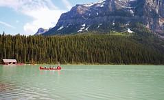 Lake Louise (3) (Koku85 (Thanks for 1 million views)) Tags: lakelouise lake nature boathouse landscape alberta canada water