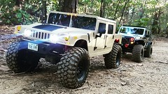 Hummer and jeep crossing (tristar839) Tags: hummer 4x4 offroad army vehicles