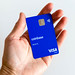 Coinbase Card in my Hand
