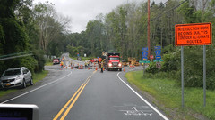 Traffic Circle Maintenance (blazer8696) Tags: rtedc021 poughquag newyork unitedstates 2019 bruzjul circle clove cloverd dscn4799 ecw mountain ny rd road rotary roundabout t2019 traffic usa valley wingdale intersection work construction maintenance