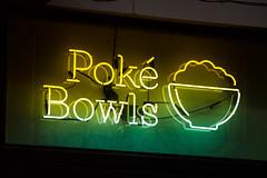 Poke Bowls (Thomas Hawk) Tags: america chicago cookcounty illinois usa unitedstates unitedstatesofamerica neon poke pokebowls restaurant