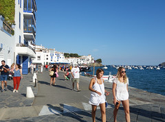 Cadaques (Kaeko) Tags: trip travel vacation holiday town spain catalonia resort cadaques europe street people