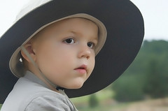Rivers, the work of art (Pejasar) Tags: grandson child boy myhat riding horse special first estespark colorado