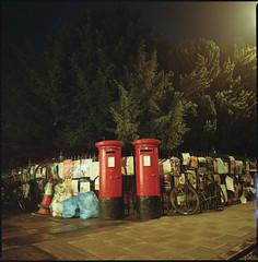 post box red (steve-jack) Tags: hasselblad 501cm 50mm cfi lomography colour 800 film 120 6x6 medium format cambridge tetenal c41 kit epson v500