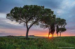 Sunrise in Tuscany (Hans Kruse Photography) Tags: valdorcia italy tuscany