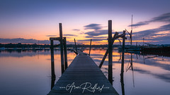 Pin Mill Jetty Sunrise (Aron Radford Photography) Tags: pin mill sunrise dawn boat jetty suffolk river orwell coastal creek estuary