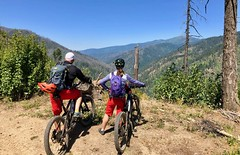 IMG_2755 (Doug Goodenough) Tags: bicycle bike cyle pedals spokes ebike bulls evo estream scott jen river selway idaho lookout mountain climb sun summer july 2019 gravel grinding drg531 drg53119 drg53119p drg53119pindianlookout forest canyon