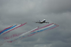 DSC01742 (Alexander Morley) Tags: fairford airshow royal international air tattoo 2019 riat british airways boeing 747 boac red arrows