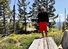 DJI_0333 (Doug Goodenough) Tags: bicycle bike cyle pedals spokes ebike bulls evo estream scott jen river selway idaho lookout mountain climb sun summer july 2019 gravel grinding drg531 drg53119 drg53119p drg53119pindianlookout forest canyon