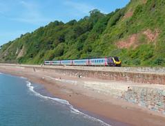 1M41 Teignmouth (Marky7890) Tags: xc class220 voyager 1m41 teignmouth railway devon rivieraline train