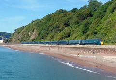 802009 & 802001 Teignmouth (1) (Marky7890) Tags: gwr 802009 802001 class802 iet 1c04 teignmouth railway devon rivieraline train