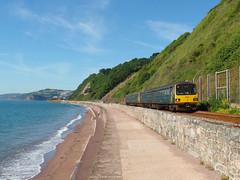 143620 Teignmouth (Marky7890) Tags: gwr 143620 class143 pacer 2f17 teignmouth railway devon rivieraline train