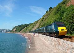 43170 Teignmouth (2) (Marky7890) Tags: gwr 43170 class43 hst 2c45 teignmouth railway devon rivieraline train