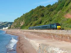 43170 Teignmouth (1) (Marky7890) Tags: gwr 43170 class43 hst 2000000000000 teignmouth railway devon rivieraline train
