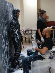 Flesh and Acrylic public art performance with living model/dancer at Ankamall, Ankara, Turkey, 2016 - Ben Heine Art (creative and abstract bodypainting) (Ben Heine) Tags: bodypainting fleshandacrylic abstract benheineart benheine ankamall liveperformance splash peinturesurcorps largepainting forsale artforsale speedpainting modèles 2dart 3dart concept creative disappear historyofart histoiredelart fun invisible liveart performance model painting peinture shoppingmall brush brushes pinceau innovative turkey turquie freedomofspeech bigbrother eye look art amazing original colors acrylic paint artist layer makingof couleurs canvas toile giant giantpainting live direct public show exhibition body corps belgium venteauxenchères quote auction price traditionalart abstrait abstractart ankara dance dancer